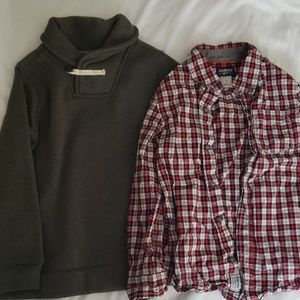 Boys sweater & collared shirt